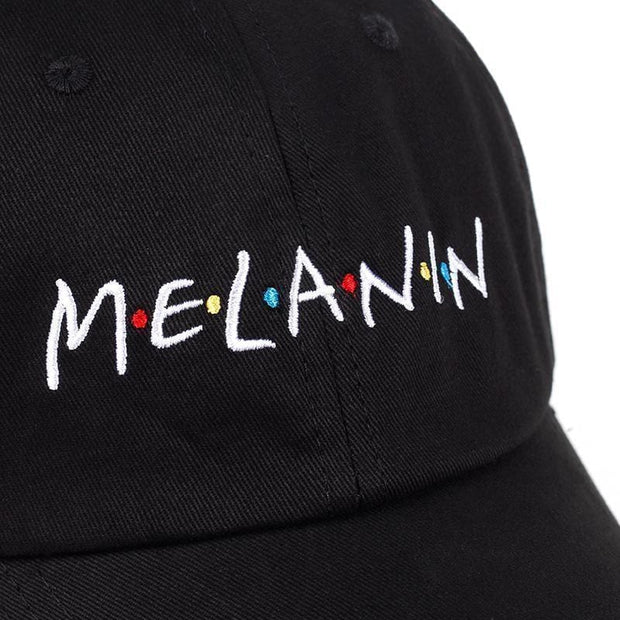 Melanin Dad Hat MugenSoul Streetwear Brands Streetwear Clothing  Techwear