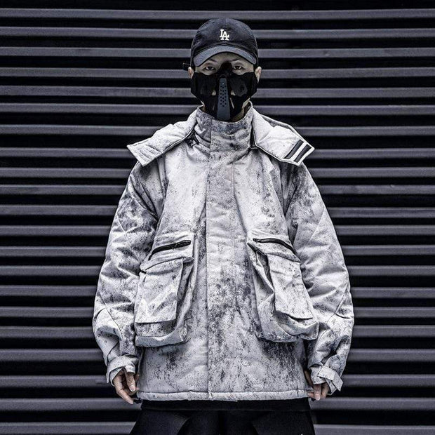 Mugen Soul Teknical Winter Jacket MugenSoul Streetwear Brands Streetwear Clothing  Techwear