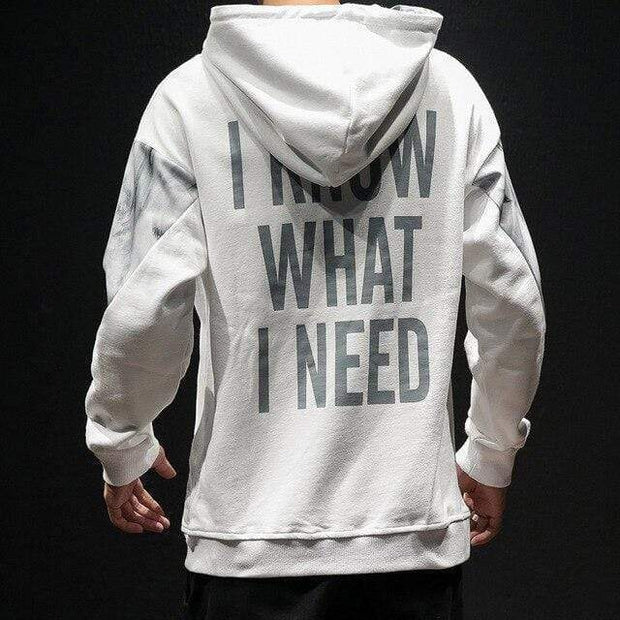 Needs Hoodie MugenSoul Streetwear Brands Streetwear Clothing  Techwear
