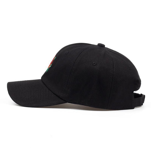 Rose Dad Hat MugenSoul Streetwear Brands Streetwear Clothing  Techwear