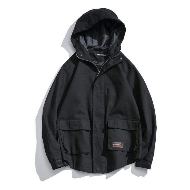 Scoop Urban Jacket MugenSoul Streetwear Brands Streetwear Clothing  Techwear