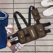 Tactical Chest Rig MugenSoul Streetwear Brands Streetwear Clothing  Techwear