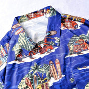 Tropical Shirt MugenSoul Streetwear Brands Streetwear Clothing  Techwear