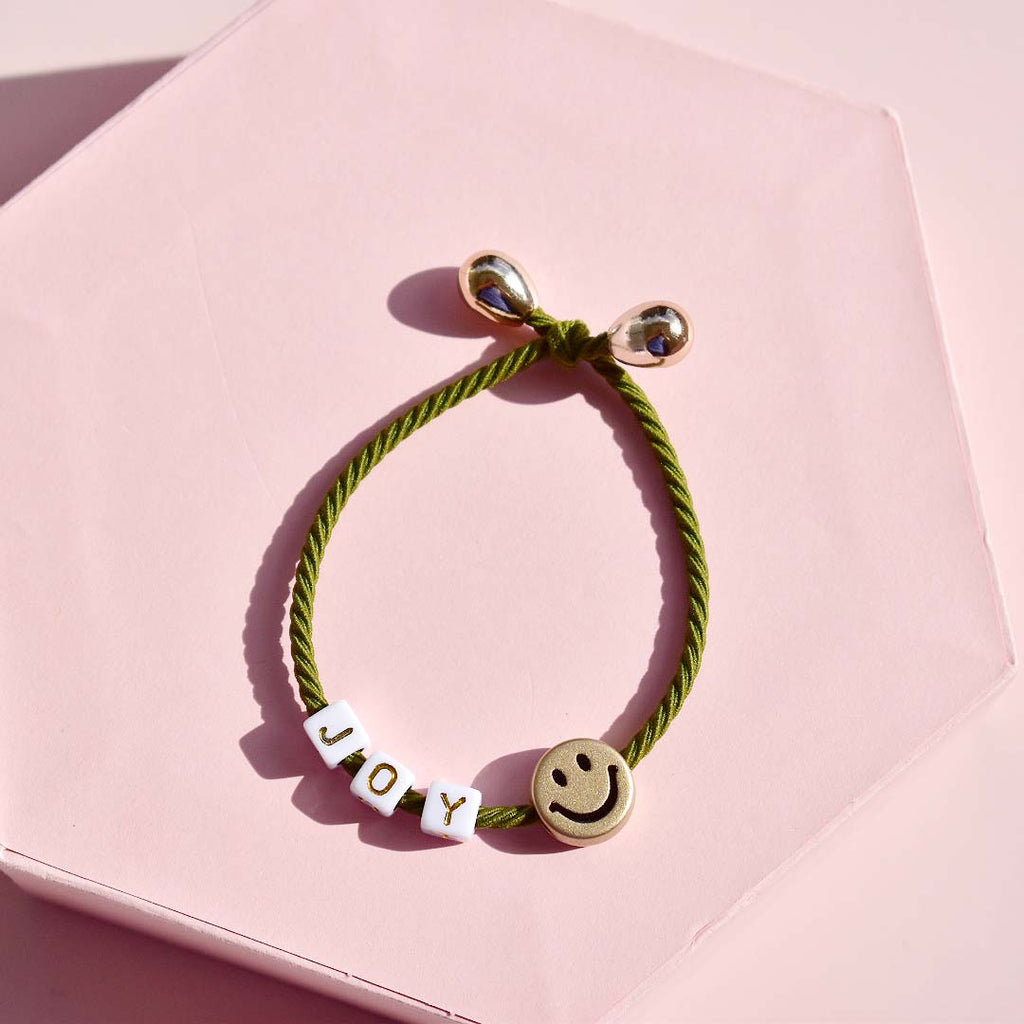 Joy Hair Tie - Green