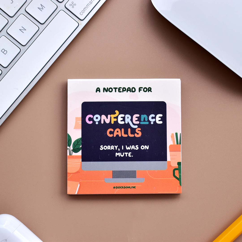 A Notepad For Conference Calls