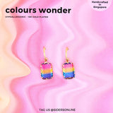 Colours Wonder Hoop Earrings