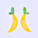 Peeelin' Fresh Banana Earrings