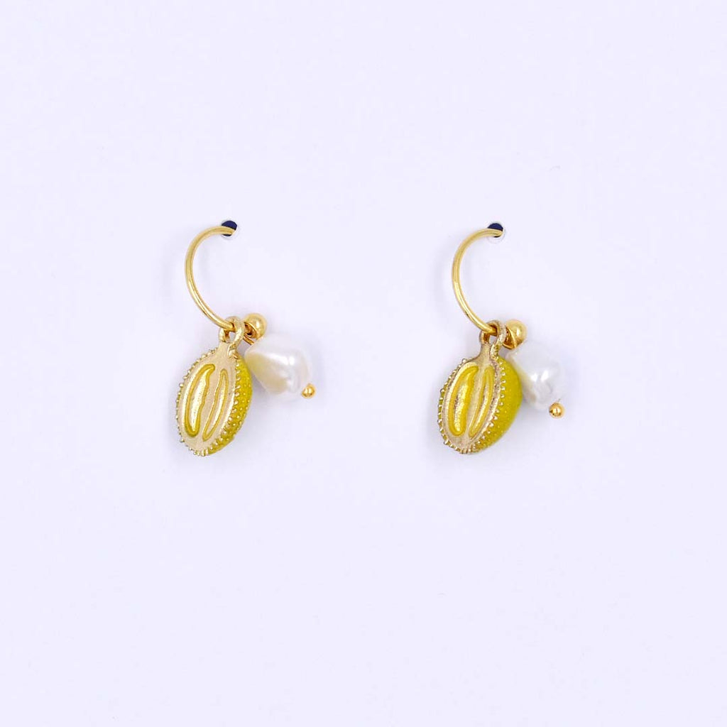 Addicted To Durian Hoop Earrings