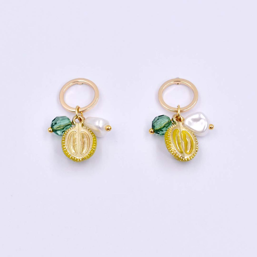Addicted To Durian Drop Earrings