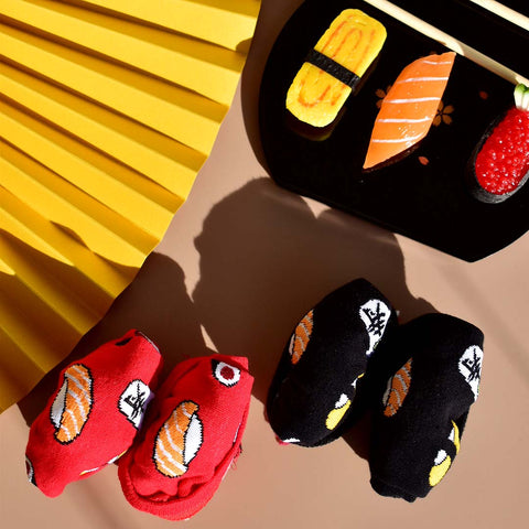 All Sushi Socks - Black