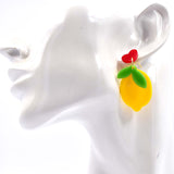 Be Zesty Lemon Earrings