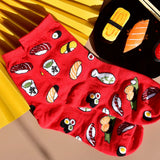 All Sushi Socks - Red