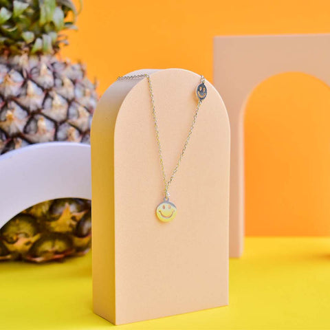 Duo Smiley Necklace