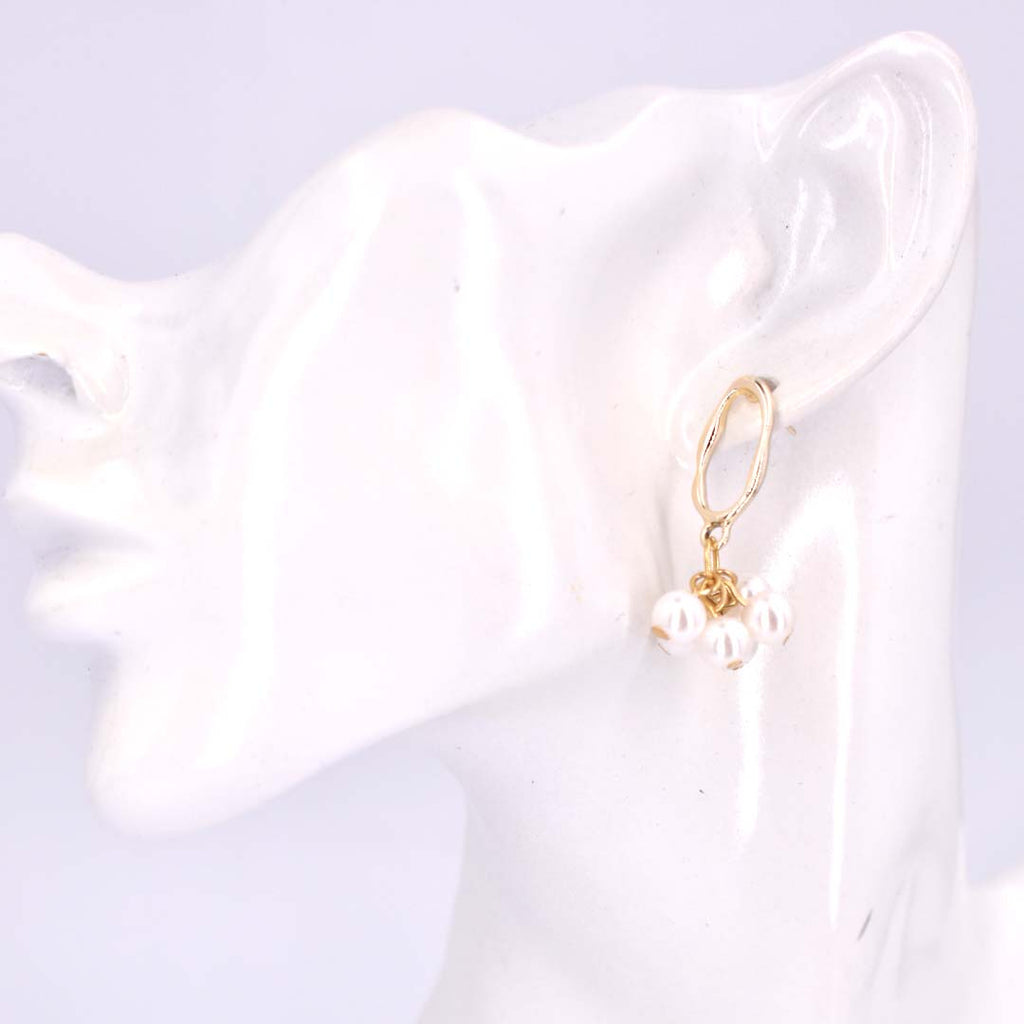be mer-mazing and make waves - pearl drop earrings