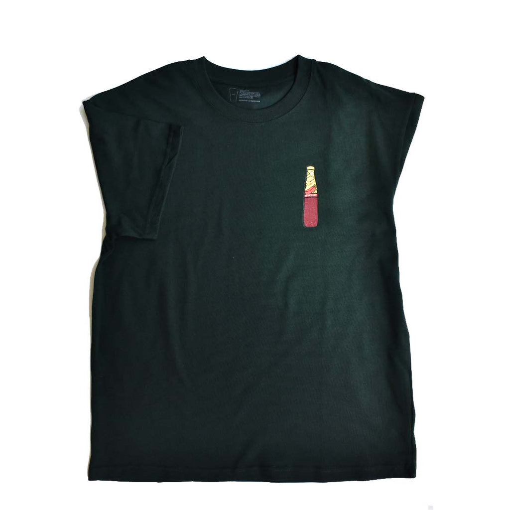 Saucy Oversized Tee in Emerald Green