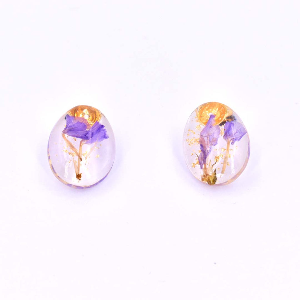 Plant Dreams Dried Flower Earrings