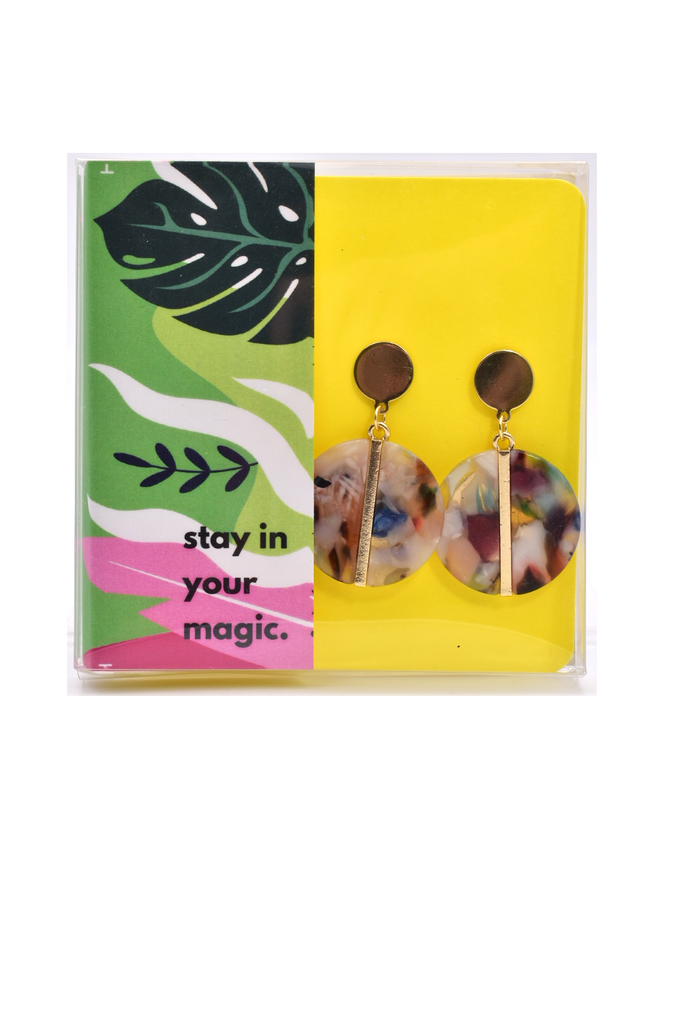 Be Sweet On The Inside - Resin Earrings