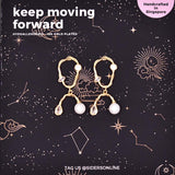 Keep Moving Forward Earrings