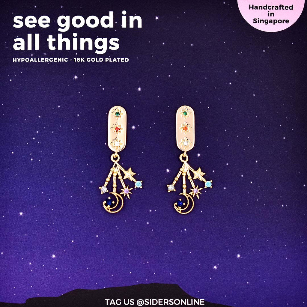 See Good In All Things Earrings