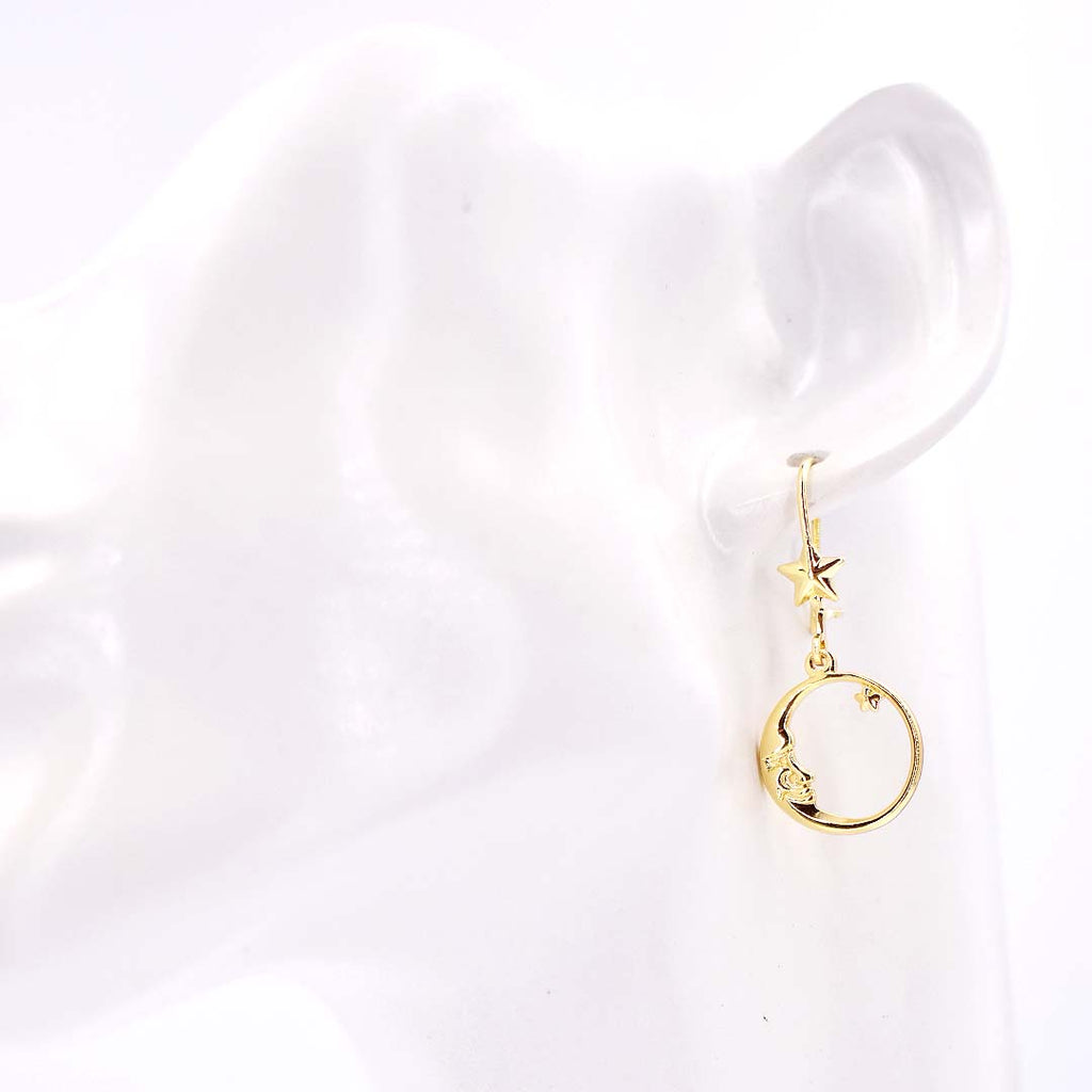 Time to Shine Gold Earrings