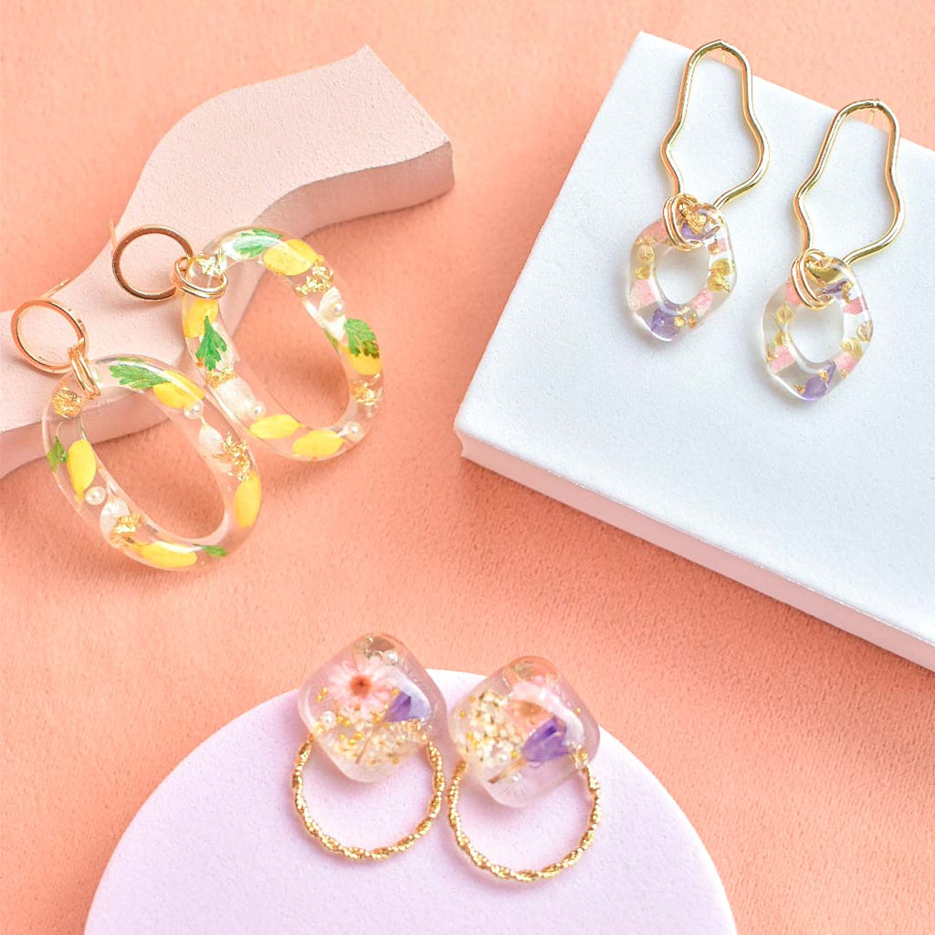 Bloom Dangling Earrings