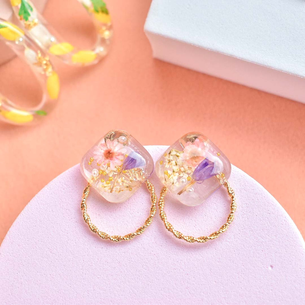 Stud Bloom Earrings