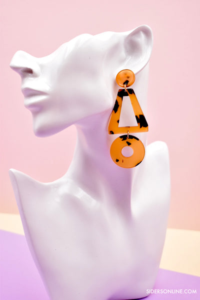 Jeslyn Monochrome Drop Earrings