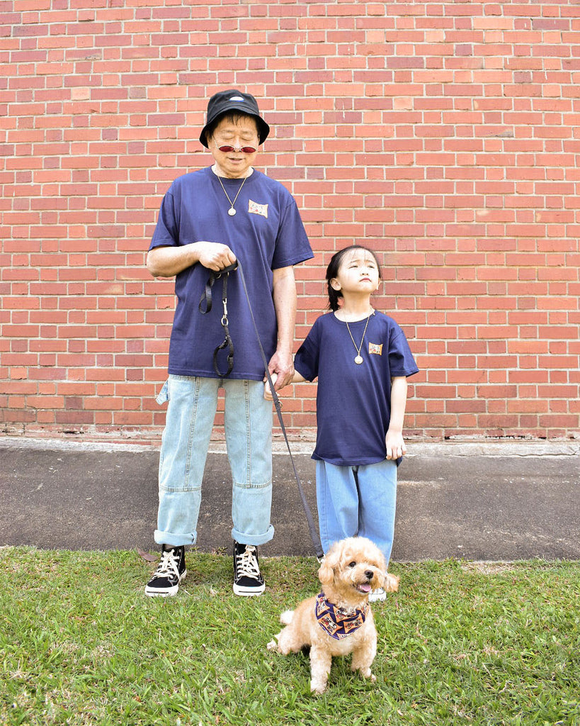 Money In Tee in Navy - Kids