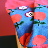 Orangely Apple Mixed Fruits Socks