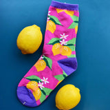 Organic Unwaxed Lemon Socks