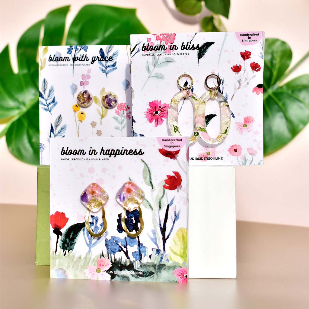 Bloom in Happiness Earrings