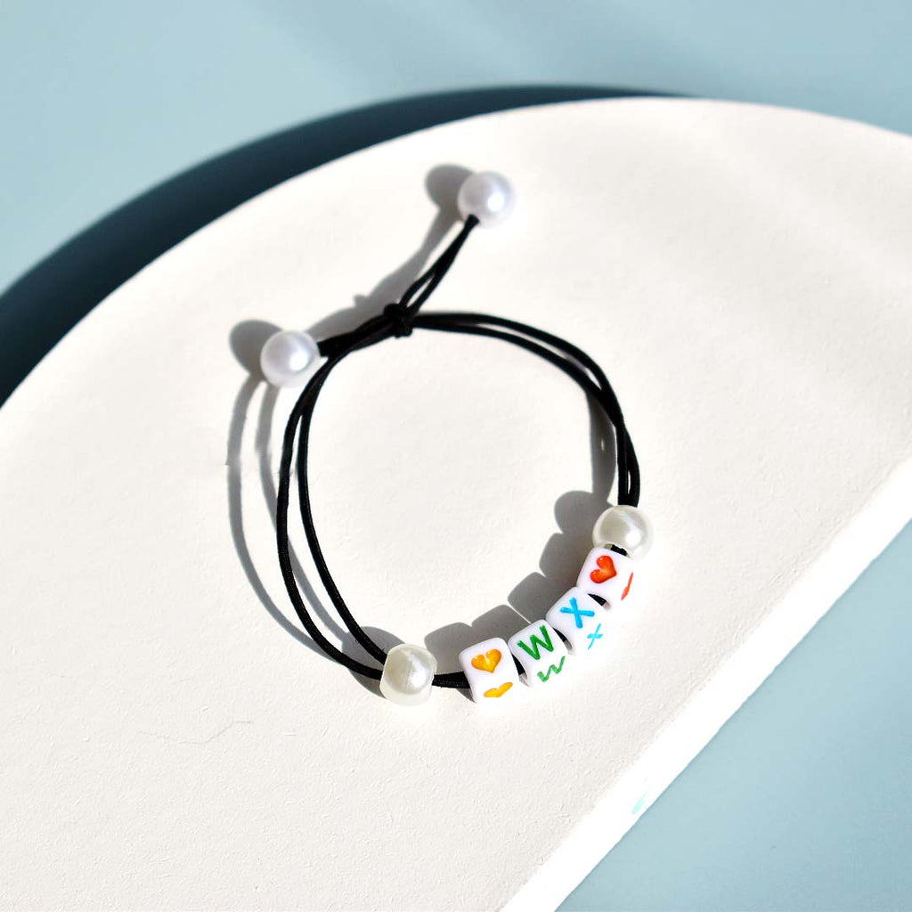 Customizable Hair Tie - Power Black