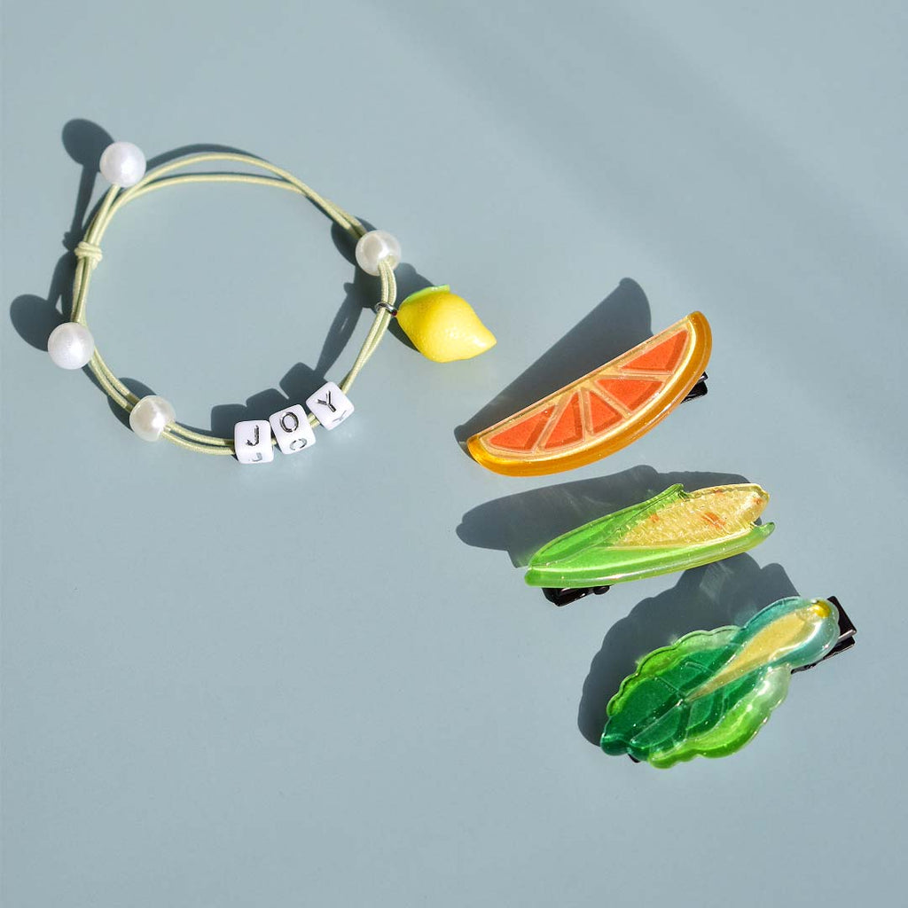 Customizable Hair Tie - Avo Green