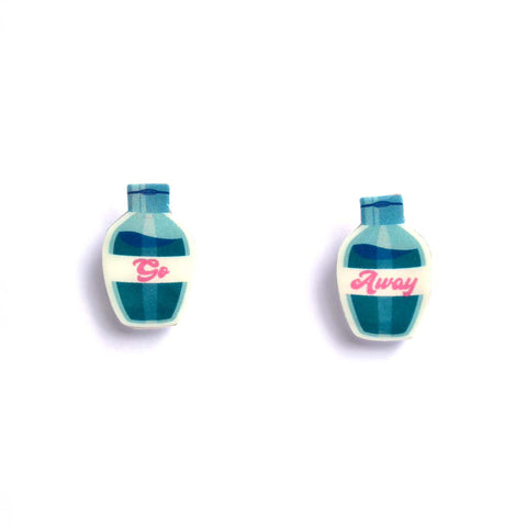 Bottles of Earrings