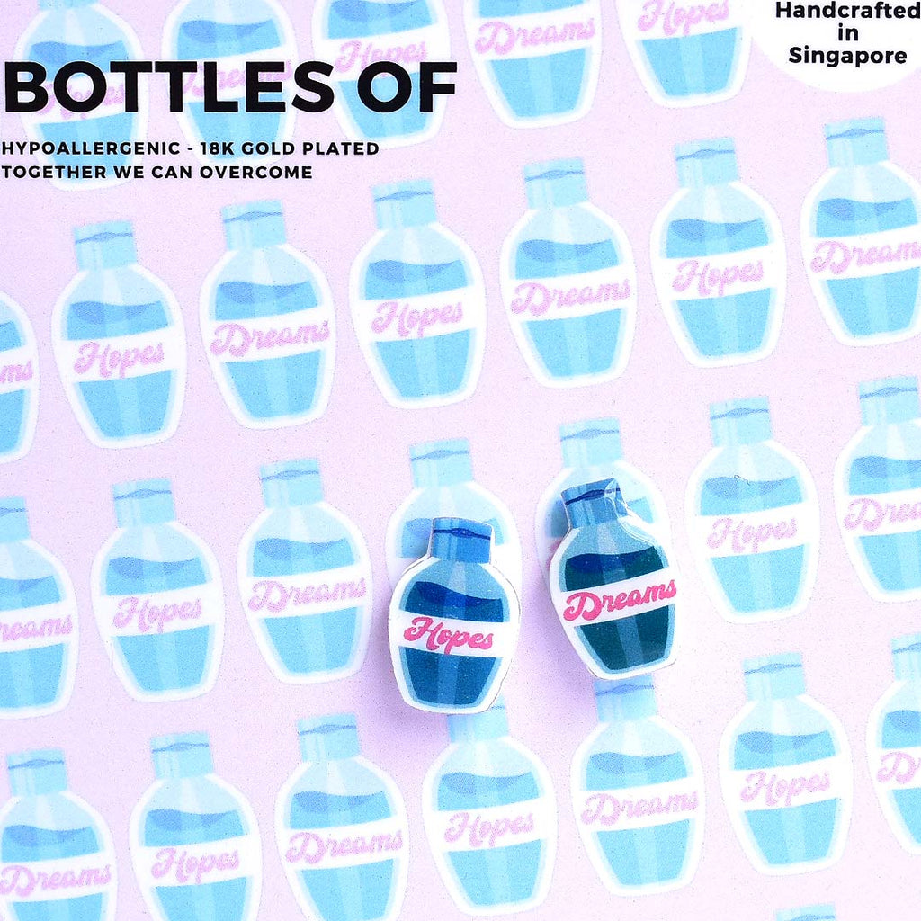Bottles of Pins