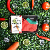 Fresh Organic Carrots Socks (Avail in Big & Small)