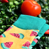 Freshly Jade Watermelon Socks (Avail in Baby, Small & Big)