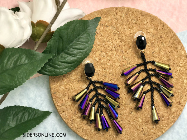 Aiglante Chandelier Statement Earrings