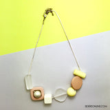 Cavatta Geometric Summer Necklace
