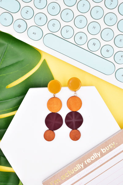Faye Nature Drop Earrings