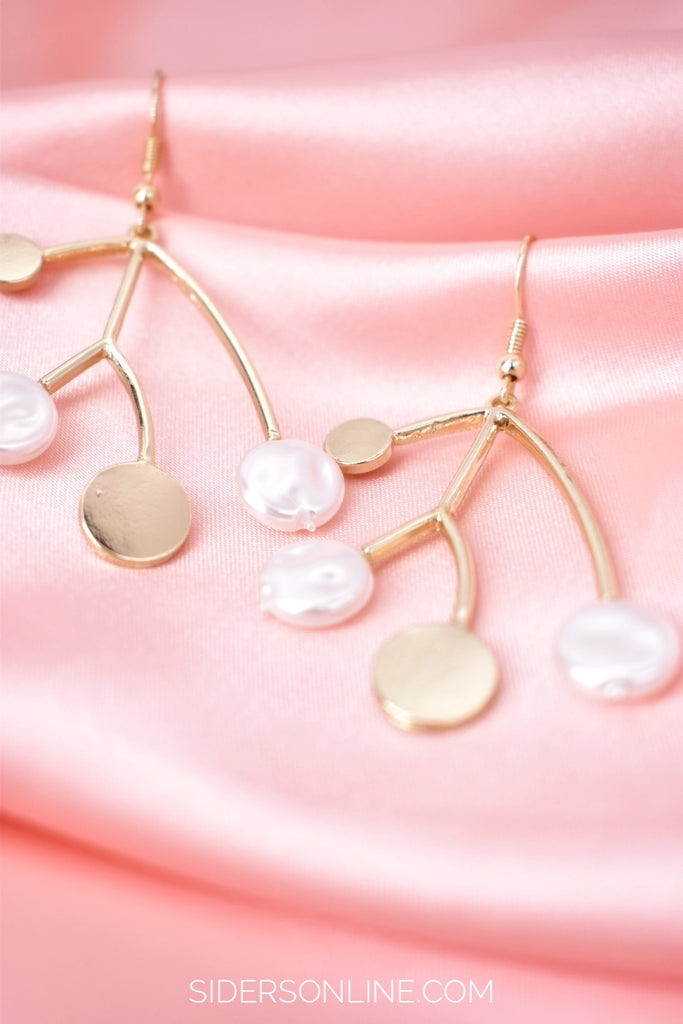 Kindness is Magic - Pearl Drop Earrings