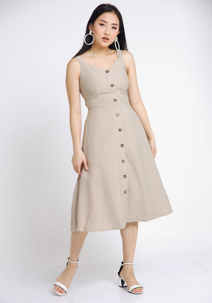 Joline Neutral Dress