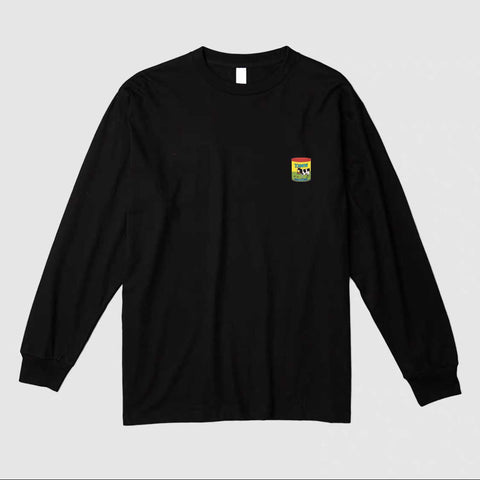 Yawn Long Sleeve Tee in Black [Preorder]