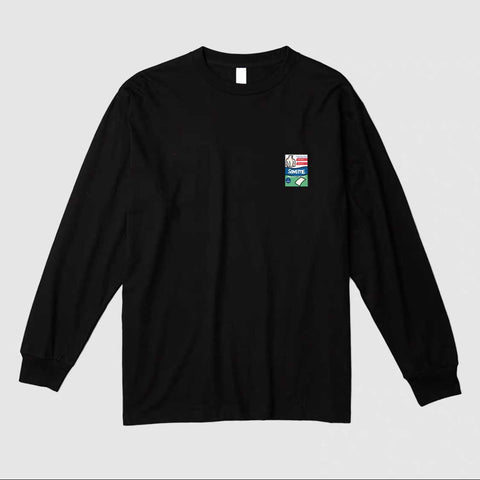 Save Me Long Sleeve Tee in Black [Preorder]