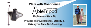 AbleTripod Walk with Confidence Homepage Banner | AbleTripod