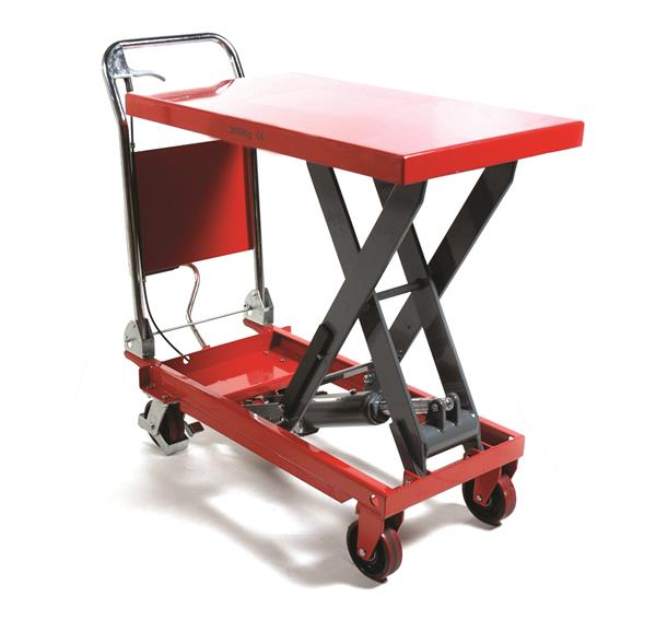 Climax 150kg Material Handling Lift Table Red Photo