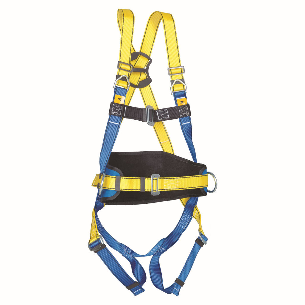 P42 Full Body Harness with Work Positioning Belt (Steel Chest Buckle)