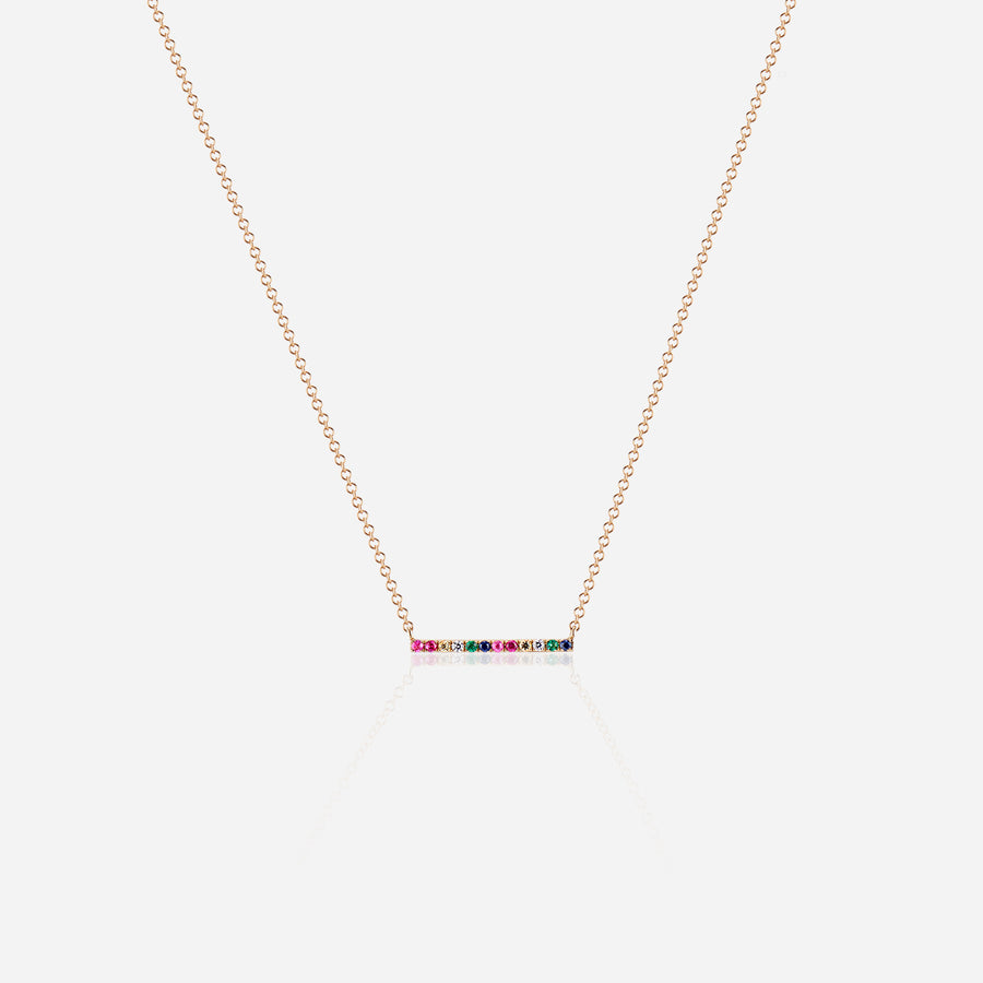 Bow T-Bar Necklace