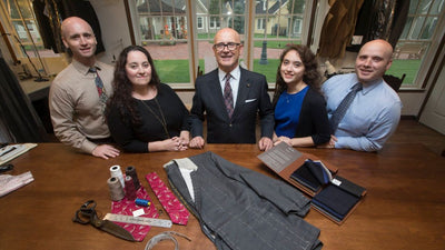 Newsday: Custom tailor opens 2nd shop as bespoke clothing business grows