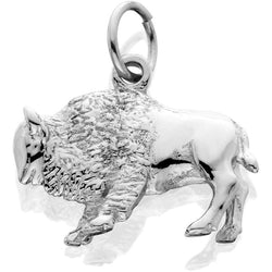 Silver Buffalo 3d Standing J-Ring